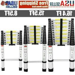 8.5/15.5/16.4FT Telescoping Ladder Telescopic Extension Exte