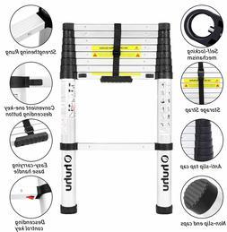 Ohuhu 8.5 FT Aluminum Telescoping Ladder  330 Pound Capacity
