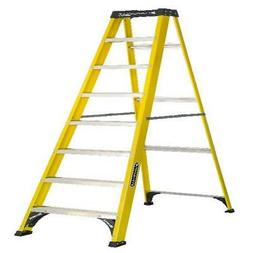 Louisville Ladder 8 Fiberglass Step Ladder, 250-lb Capacity,