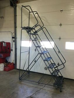 Ballymore 9 step Rolling Safety Ladder SW-093214