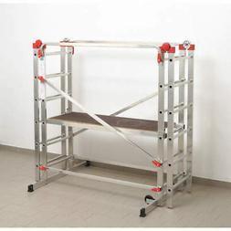 HAILO 9459-501 Portable Scaffold,330 lb.,Aluminum