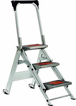 Little Giant, 3 step, Aluminum, 2-1/4 Feet, 300 lb. Capacity