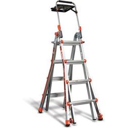 Little Giant, MegaMax 17 Ladder W/air Deck Extend to 15' Hei