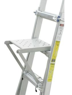 Werner Co AC-18MT Multi-Ladder Steel Step Steel - Type Ia Du