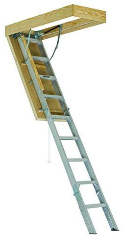 Louisville Ladder 25-1/2 x 54-Inches Elite Aluminum Attic La