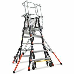 Little Giant Ladder Systems 18515-240 Aerial Safety Cage Fib