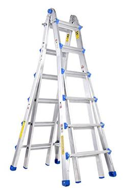 TOPRUNG Model-26 ft. Aluminum Extension Multi-Purpose Ladder
