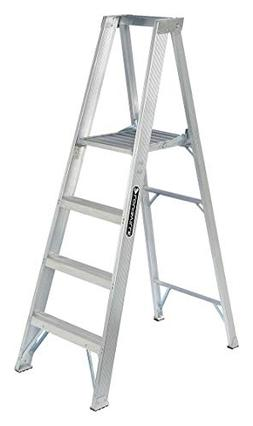 AP1000 Series Master Aluminum Platform Step Ladders - 4' alu