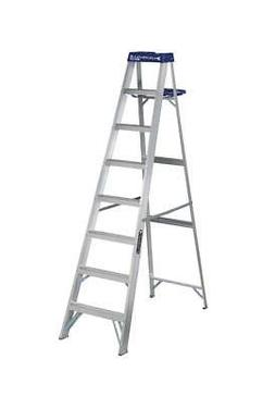 Louisville Ladder AS2108 250-Pound Duty Rating Aluminum Step
