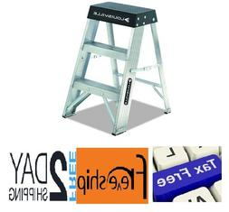 Louisville Ladder AS3002 6966014, 2-Foot, Black