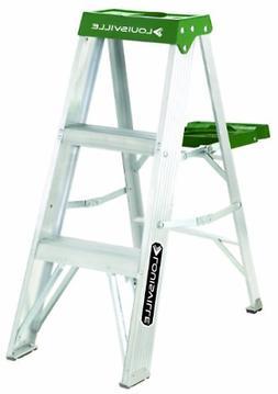 AS4000 Series Victor Aluminum Step Ladders - 3' victor alumi