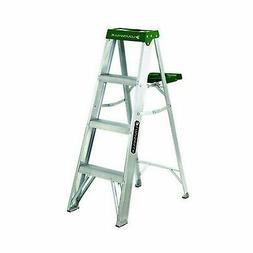Louisville Ladder AS4004 225-Pound Duty Rating Aluminum Step