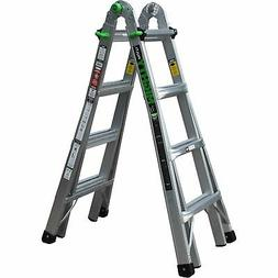 Ascent Mighty Multi-Position Ladder 17ft Aluminum- 300lb. Ca