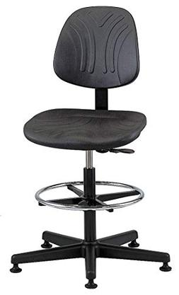 Bevco Standard Task Stool with 300 lb. Weight Capacity, Blac