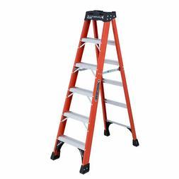 "6"" Brute 375 Fiberglassstep Ladder, Sold As 1 Each"