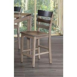Cascade Multitone Weathered Ladder Back Counter Chairs