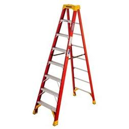 WERNER CO 8FT TYPE1A FBGL STEPLADDER