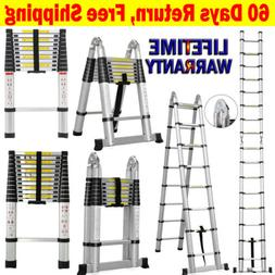 Collapsible Telescopic Ladder Loft Roof Step Ladders Extensi