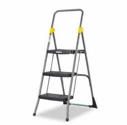 Cosco Commercial 3-Step Folding Easy Storage Step Ladder