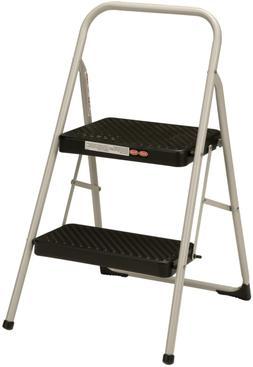 Cosco 2-Step Household Folding Step Stool Gray NEW