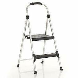 Cosco Signature Step Stool Two-Step Aluminum Step Stool with