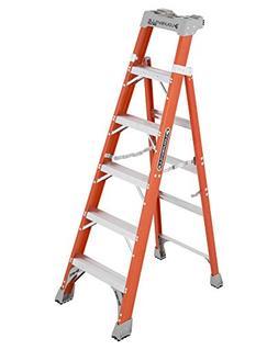 Louisville Ladder FXS1506, 6-feet, Orange