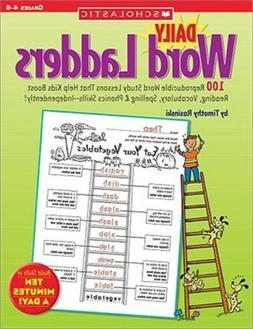 Daily Word Ladders Grades 4-6, Paperback by Rasinski, Timoth