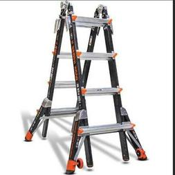 Dark Horse 300-Pound Duty Rating Fiberglass Multi-Use Ladder
