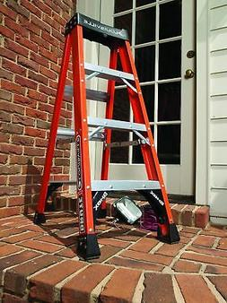 Louisville Davidson Ladders 8 ft Fiberglass IAA Step Ladder