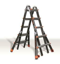 15145-001 300-pound duty rating fiberglass multi-use ladder