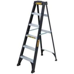 LOUISVILLE LADDER DXL3110-06 FBG Type I Step Ladder, 6'