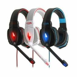 EACH G4000 Gaming Headset LED USB+ 3.5mm Stereo Headphone wi