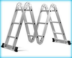 EN131 330LB Multi Purpose Step Platform Aluminum Folding Sca