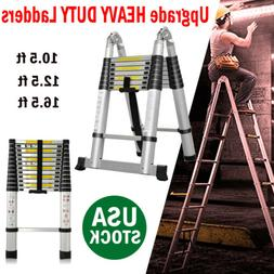 EN131 Telescopic Extension Aluminum Step Ladder Folding Mult