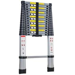 Xaestival EN131 15.5ft Telescoping Ladder Aluminum Telescopi