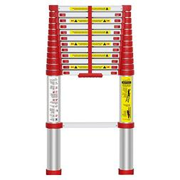 WolfWise 12.5FT EN131 Telescoping Ladder Aluminum Telescopic