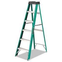 Louisville Fiberglass Step Ladder - 225 lb Load Capacity - 7