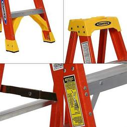 Werner 6204 4' Fiberglass Step Ladder