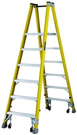 Louisville FMP2006-4C Twin Front Platform Ladder with 6-Feet