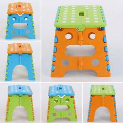 Folding Step Stool Durable Simple For Kids Multi Purpose Hom