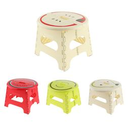Folding Step Stool Stable Foldable Stool for Kids Adults Kit