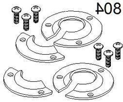 Xtenda-Leg® #804 Foot Hardware -pair