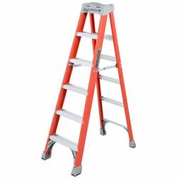 FS1500 Series Fiberglass Step Ladders - FS1506 SEPTLS443FS15