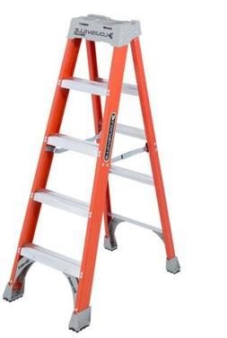 FS1500 Series Fiberglass Step Ladders - 5'advent fiberglass