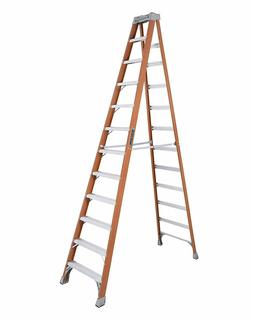 FS1500 Series Fiberglass Step Ladders - 12' advent fiberglas