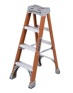 Louisville FS1500 Series Fiberglass Step Ladder, 4ft