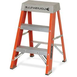 Louisville Ladder FS1502 300lb Duty Rating Fiberglass Ladder