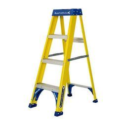 FS2000 Series Pioneer Fiberglass Step Ladders - 4'pioneer st