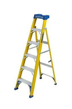 Louisville Ladder FXS2006 Cross Step Ladder, 250-Load Capaci