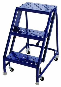 Louisville Ladder GSW1603A-W03 Steel Rolling Warehouse Ladde